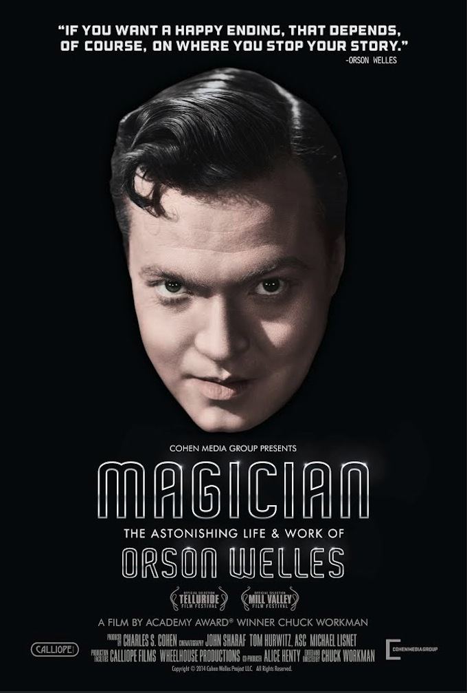 The Road to Cinema Podcast: Oscar Winning Director Chuck Workman on Making New Documentary 'Magician: The Astonishing Life and Work of Orson Welles'