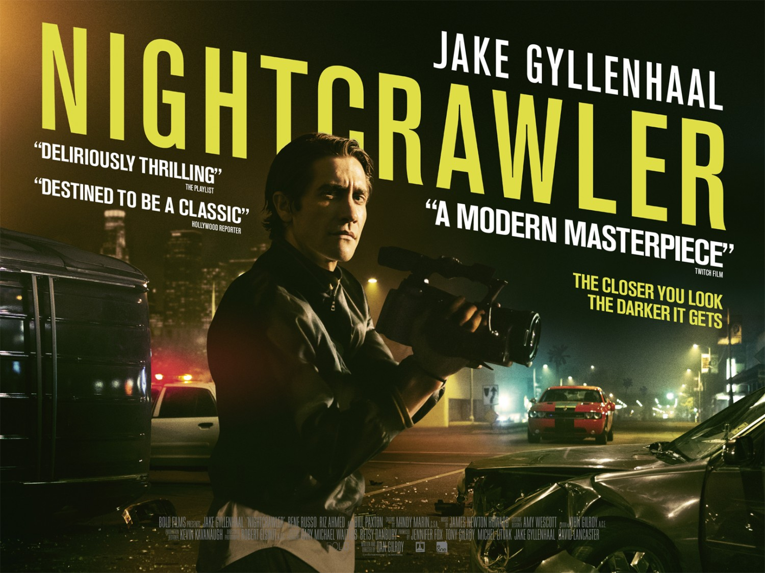 Road to Cinema Goes Inside Oscar Nominated 'Nightcrawler' with Screenwriter and Director Dan Gilroy