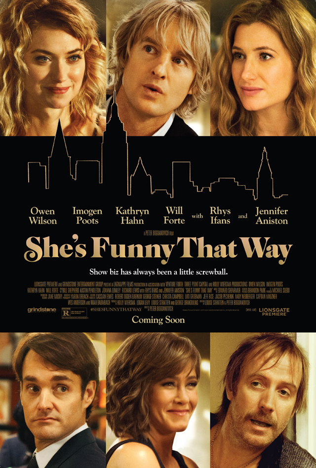 Road to Cinema Goes Inside New Film 'She's Funny That Way' with Screenwriter Louise Stratten