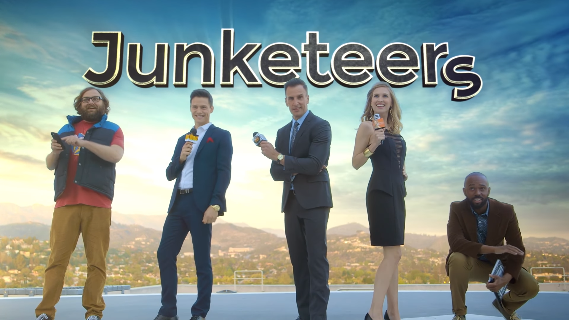 Ben Lyons and Josh Horowitz on creating NEW Comedy Central web series 'Junketeers'
