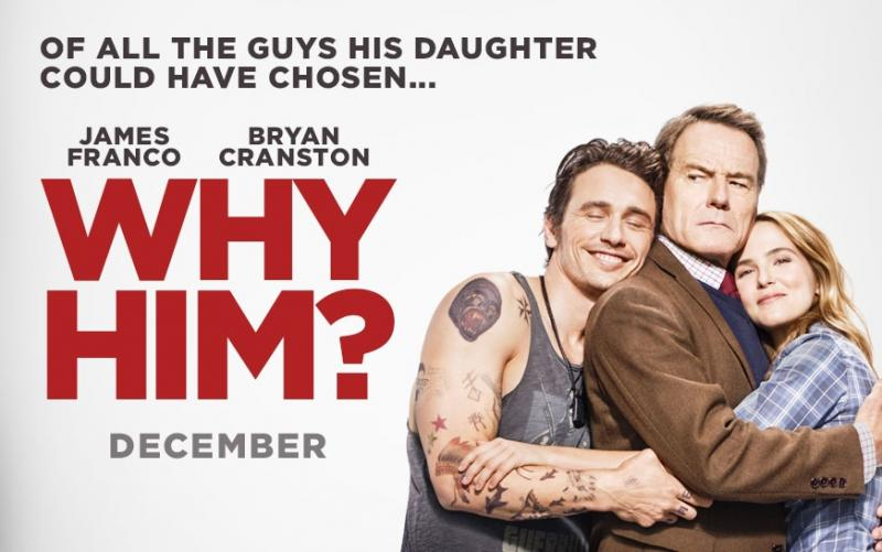 How 'Why Him?' Writer/Director John Hamburg Collaborated with His Cast to achieve Hilarious Results
